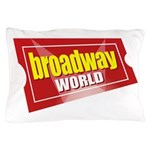 BroadwayWorld 2017 Logo Pillow Case