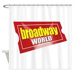 BroadwayWorld 2017 Logo Shower Curtain