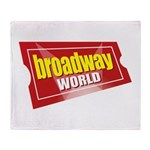 BroadwayWorld 2017 Logo Throw Blanket