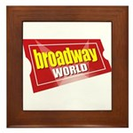 BroadwayWorld 2017 Logo Framed Tile