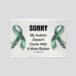 Autism Sorry Rectangle Magnet
