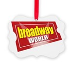 BroadwayWorld 2017 Logo Ornament