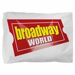 BroadwayWorld 2017 Logo Pillow Sham