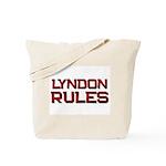 lyndon rules Tote Bag