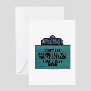 Don't Let Anyone Tell You You're Av Greeting Cards