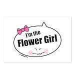 Flower Girl Postcards (Package of 8)