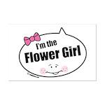 Flower Girl Mini Poster Print
