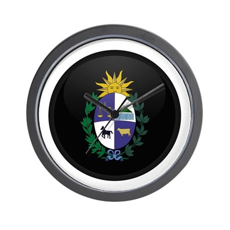 Coat of Arms of Uruguay Wall Clock
