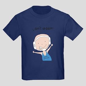I Don't Dribble - Boy Kids Dark T-Shirt