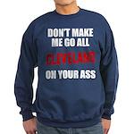 Cleveland Baseball Sweatshirt (dark)