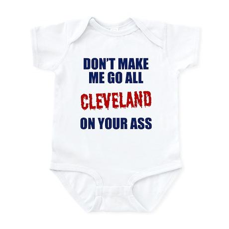 Cleveland Baseball Infant Bodysuit