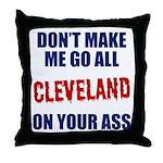 Cleveland Baseball Throw Pillow