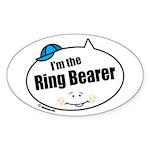 Ring Bearer Oval Sticker (50 pk)