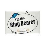 Ring Bearer Rectangle Magnet