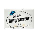 Ring Bearer Rectangle Magnet (100 pack)
