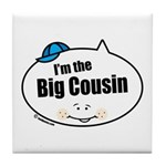 Boy Big Cousin Tile Coaster