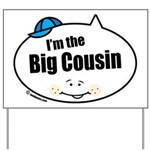 Boy Big Cousin Yard Sign