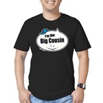Boy Big Cousin Men's Fitted T-Shirt (dark)