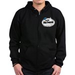 Boy Big Cousin Zip Hoodie (dark)