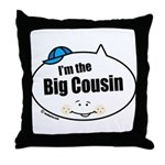 Boy Big Cousin Throw Pillow