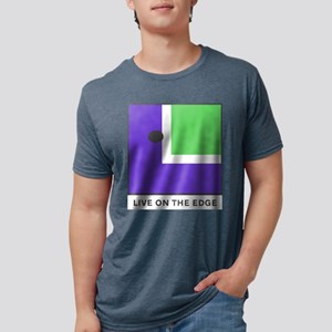 On The Edge - Mens White T-Shirt