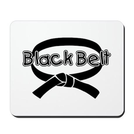 Black Belt 2 Mousepad