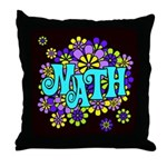 Mathadelic Surf Throw Pillow