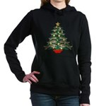 Leaping Borzoi Christmas Tree Sweatshirt