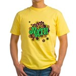 Mathadelic Surf Yellow T-Shirt