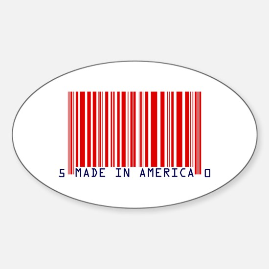 Made in America UPC Commodatee Barcode Decal