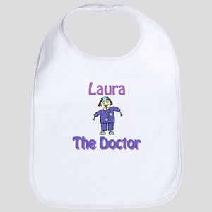 Laura - The Doctor Bib