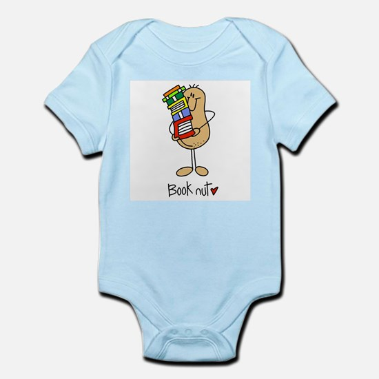 Book Nut Infant Bodysuit