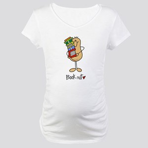 Book Nut Maternity T-Shirt