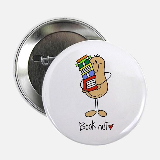 """Book Nut 2.25"""" Button"""