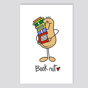 Book Nut Postcards (Package of 8)