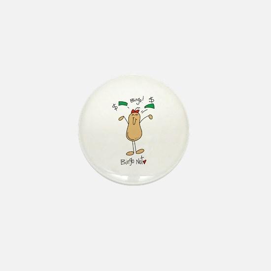 Bingo Nut Mini Button