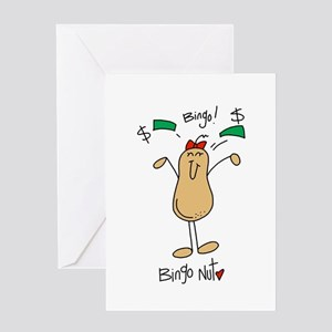 Bingo Nut Greeting Card