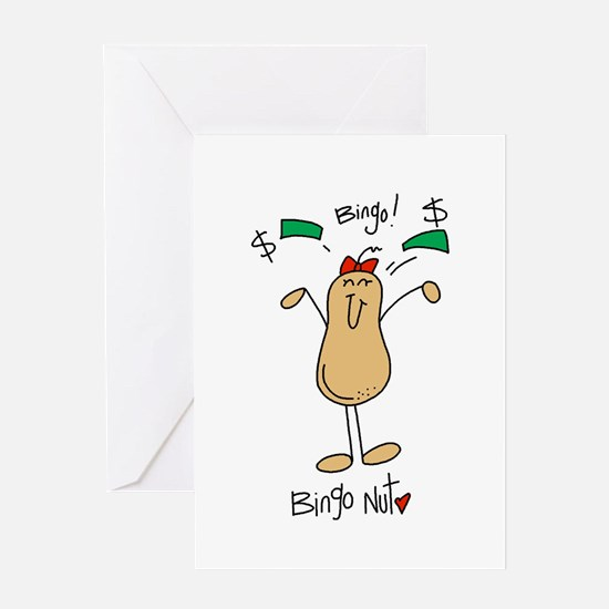 Bingo Nut Greeting Card