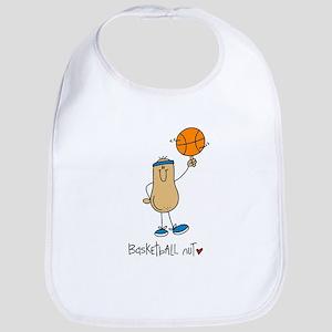 Basketball Nut Bib