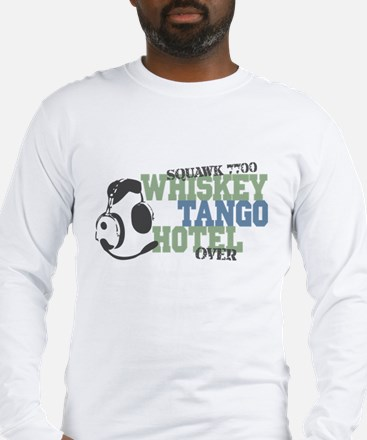 Aviation Whiskey Tango Hotel Long Sleeve T-Shirt