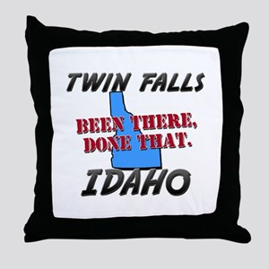 twin falls idaho - been there, done that Throw Pil