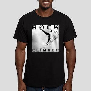 ROCK CLIMBER Men's Fitted T-Shirt (dark)