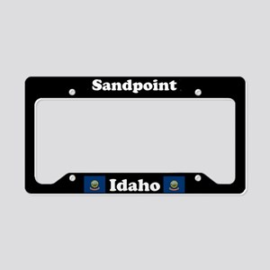 Sandpoint, ID License Plate Holder