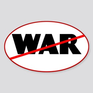 Antiwar Car Decal