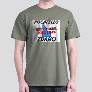 pocatello idaho - been there, done that Dark T-Shi