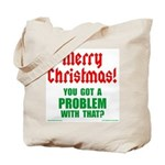 Christmas Problem Tote Bag