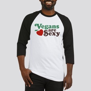 Vegans are Sexy Baseball Jersey