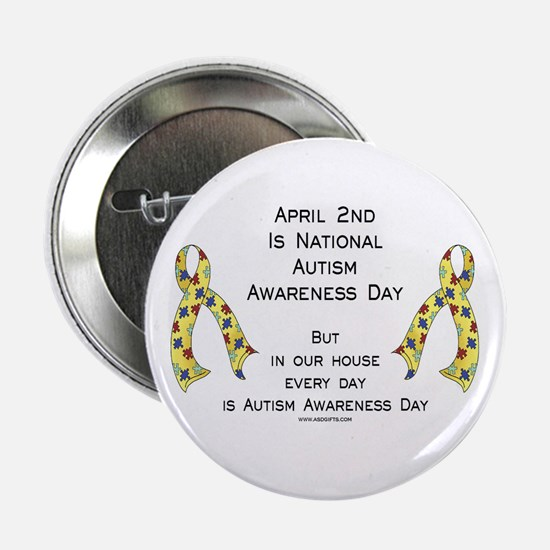"Autism Awareness Day 2.25"" Button"