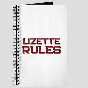 lizette rules Journal