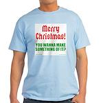 Christmas Attitude T-Shirt
